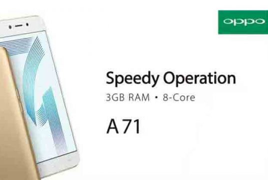 Oppo A71 akan segera hadir di Indonesia