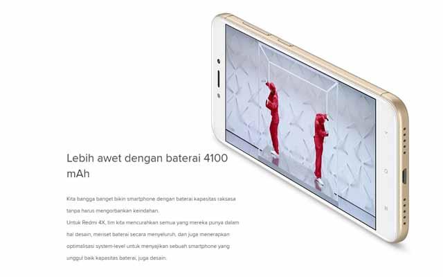 Hardware Xiaomi Redmi 4X