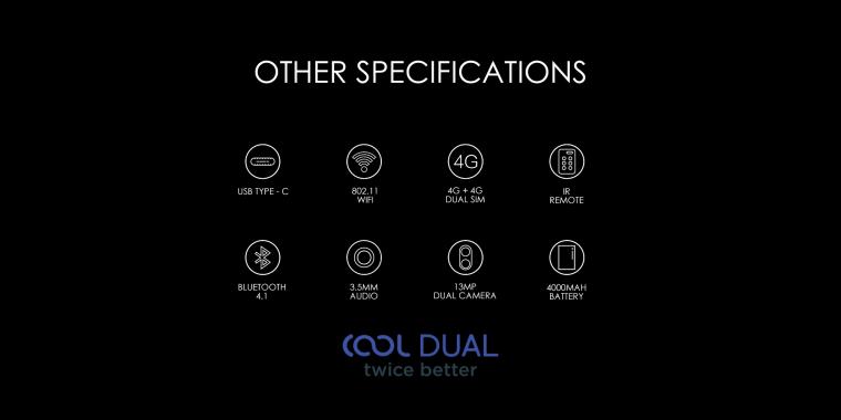 Harga dan Spesifikasi Smartphone Coolpad Cool Dual, November 2017